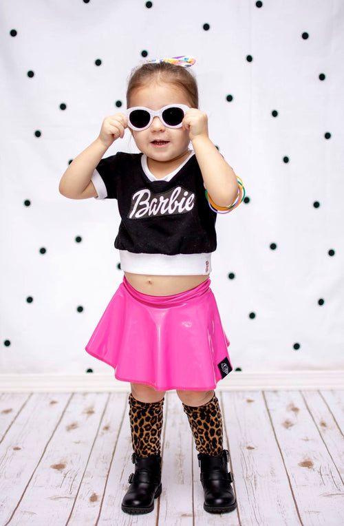 BARBIE Skinny Crop Tee