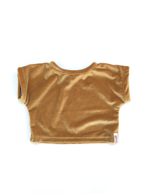 VELVET Dolman Crop Top