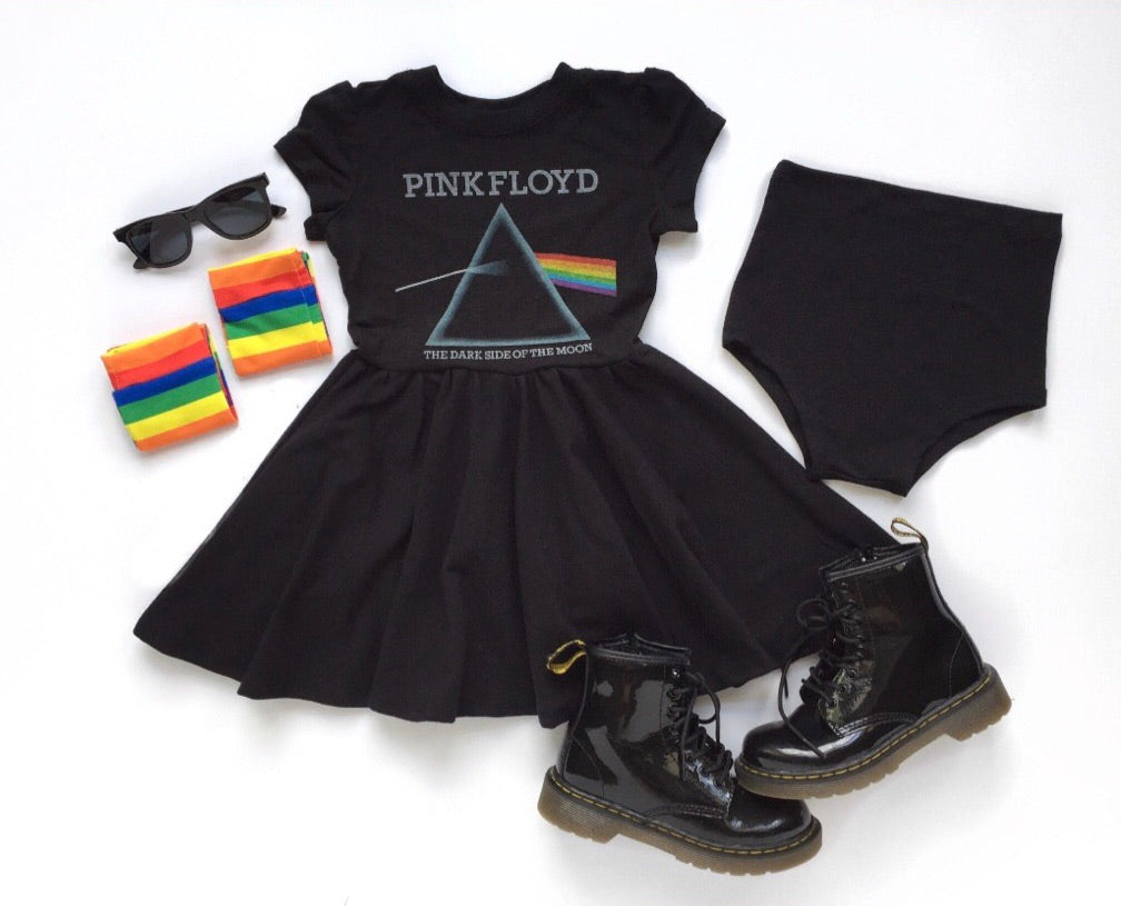 PINK FLOYD Mini Twirl Dress