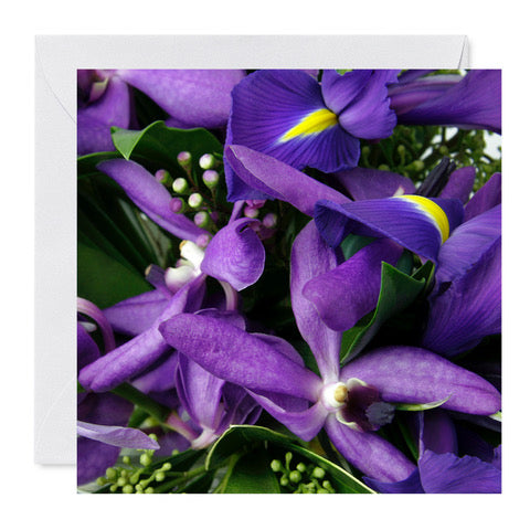 "5"" x 5"" Card- Purple"