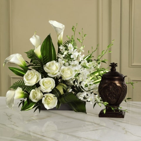White Arrangement