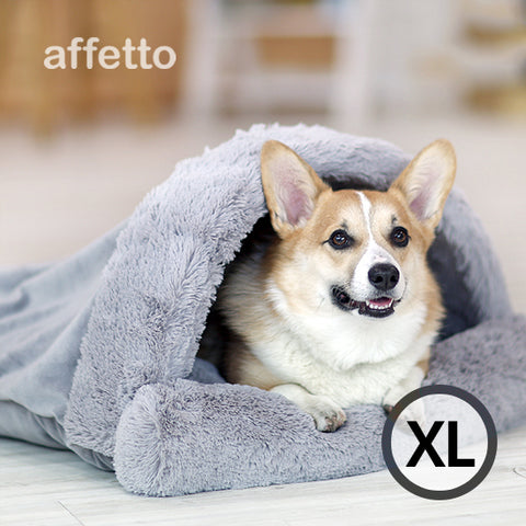 AFFETTO POCKET BED GREY (XL)