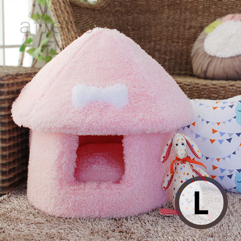 AFFETTO MUSHROOM HOUSE PINK (L)