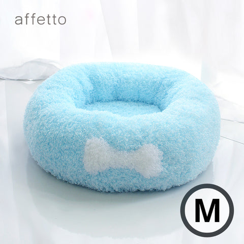 AFFETTO COOL DONUT BED SET BLUE (M)