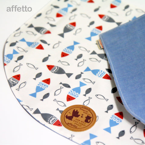 AFFETTO FEED MAT FISH