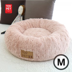 TOYPET MOGUL DONUT BED PINK (M)