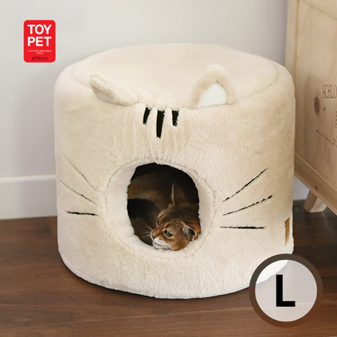 TOYPET CAT HOUSE BEIGE