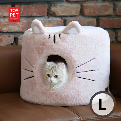 TOYPET CAT HOUSE PINK