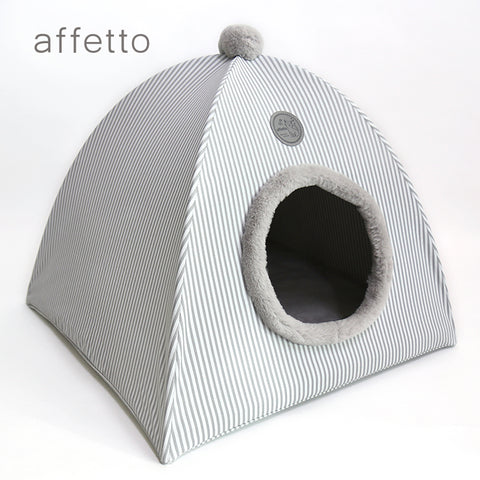 AFFETTO CAT TENT GREY