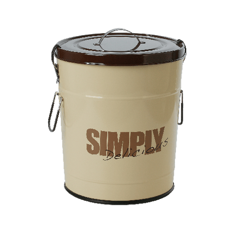 "One for Pets ""Simply Delicious"" Food Container - Chocolate - Large"