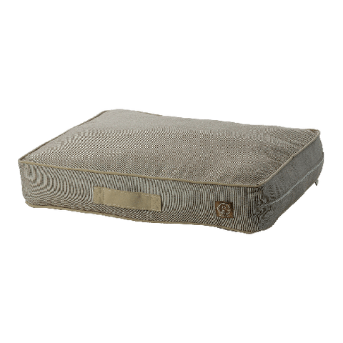 One for Pets Siesta Spanish Indoor/Outdoor Pillow Bed - Brown - Medium