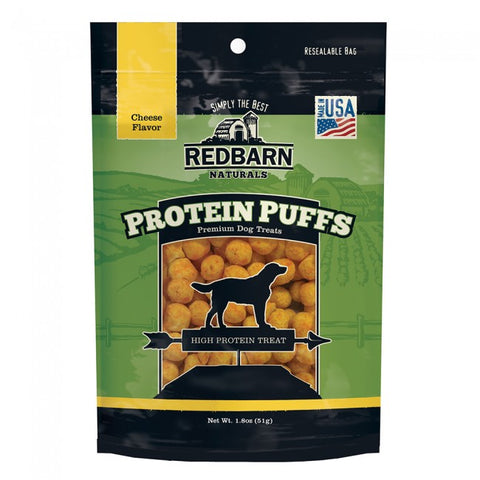 Red Barn Dog Protein Puffs Cheese 51g