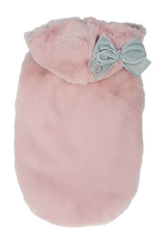 1059 ECO FUR CHARLOTTE ANTIQUE ROSE