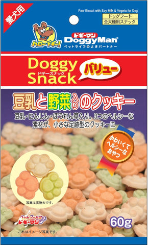 Soybean Milk & Vegetable Cookie 60g