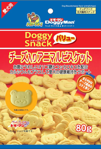 Animal Biscuit with Cheese 80g