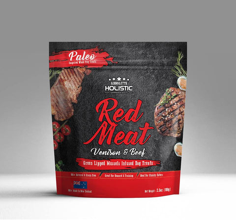 Absolute Holistic Air Dried Treats Air Dried Red Meat 100g