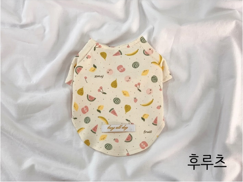 Buyalldog Baby T-shirt Fruit XL