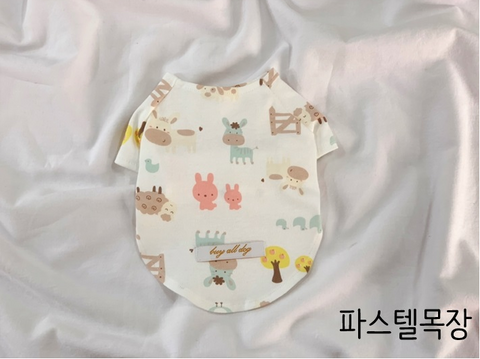 Buyalldog Baby T-shirt Pastel Ranch L
