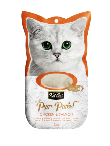 Kit Cat Purr Puree Chicken & Salmon 60g