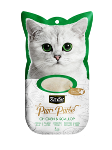 Kit Cat Purr Puree Chicken & Scallop 60g
