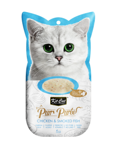 Kit Cat Purr Puree Chicken & Smoked Fish 60g