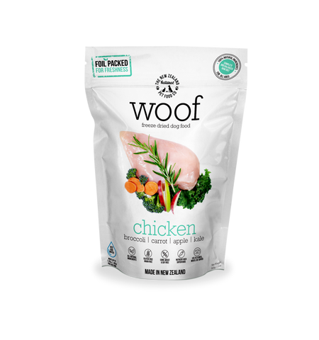 THE NZ NATURAL PET FOOD CO. Woof Chicken 11oz/320g