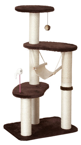 Catty Scratch Living Hammock Tower