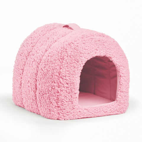 Pet Igloo Sherpa, Pink