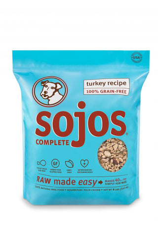 Sojos Complete Dog Turkey 2lb