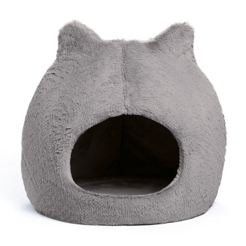 Meow Hut Fur, Grey