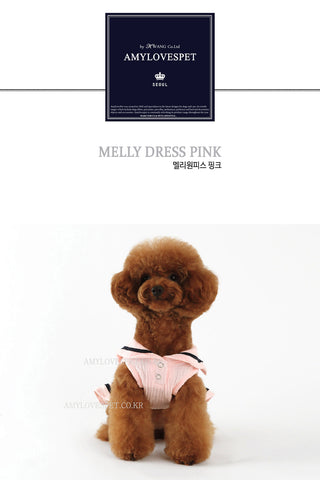 AMYLOVESPET Meli Dress, Pink, 2XL