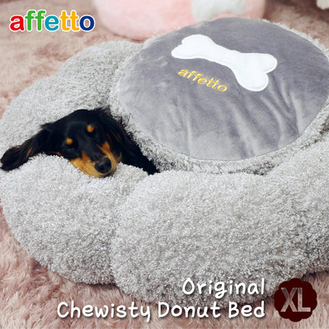 AFFETTO ORIGINAL CHEWISTY DONUT BED PINK (XL)