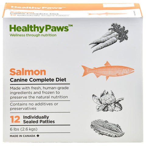 Canine Salmon Complete 6lb Patties