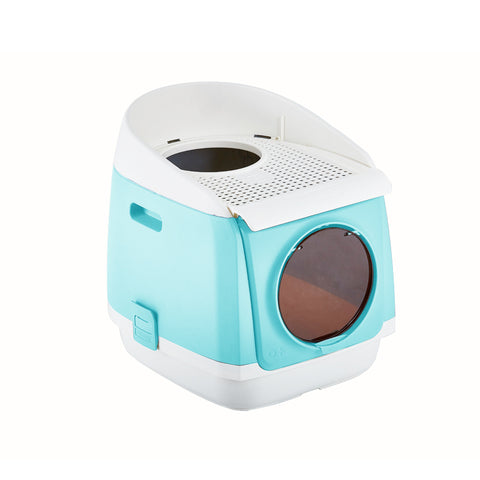 TOMCAT FREE CABIN LITTER BOX BLUE