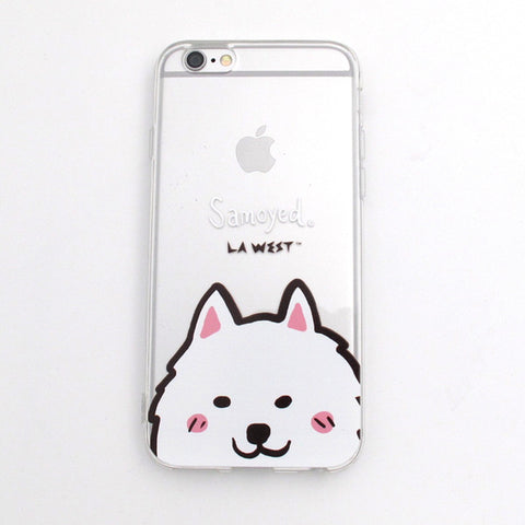 Phone Case Samoyed Portrait
