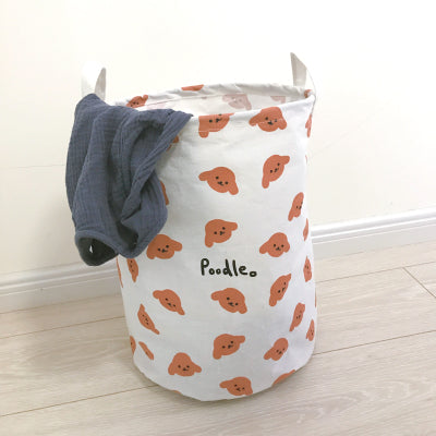 LA WEST Laundry Basket Poodle 30*40 cm