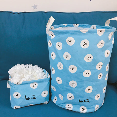 LA WEST Laundry Basket Bichon 30*40 cm