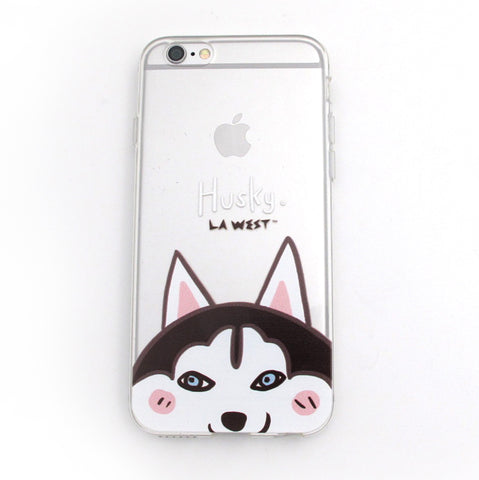 Phone Case Husky Portrait