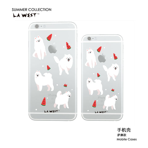 Phone case Samoyed Painted