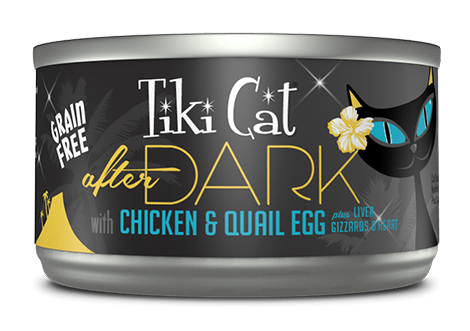 Tiki Cat® After Dark™ Chicken & Quail Egg Wet Cat Food 2.8oz
