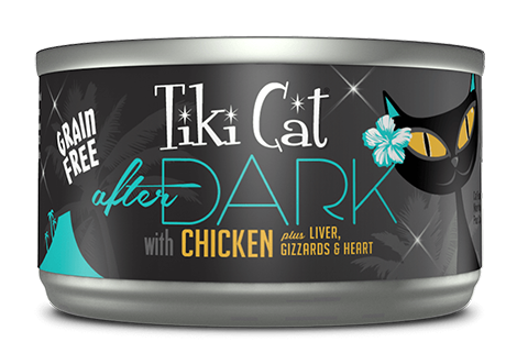 Tiki Cat® After Dark™ Chicken Wet Cat Food 2.8oz