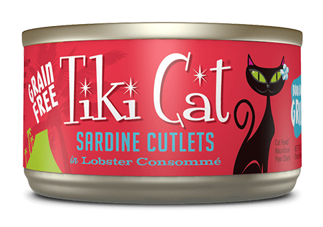 Tiki Cat® Bora Bora Grill™ Wet Cat Food 2.8oz - Sardine Lobster