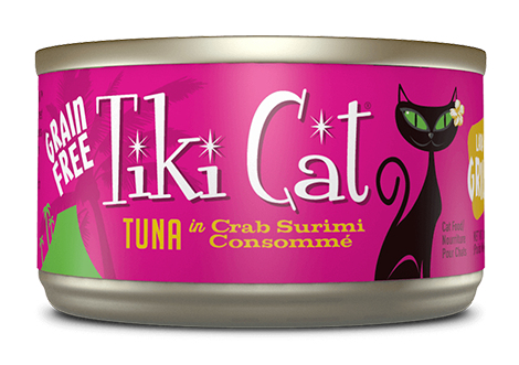 Tiki Cat® Lanai Grill™ Wet Cat Food 2.8oz -Tuna Crab Surimi