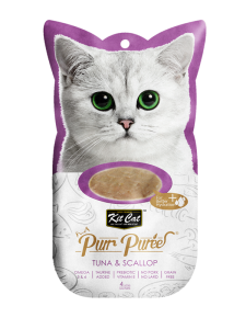 Kit Cat Purr Puree Tuna & Scallop 60g