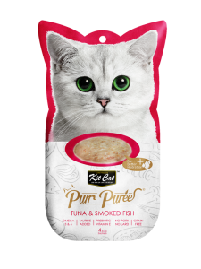 Kit Cat Purr Puree Tuna & Smoked Fish 60g