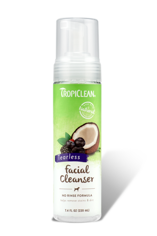 TropiClean Waterless Facial Cleanser 7.4oz