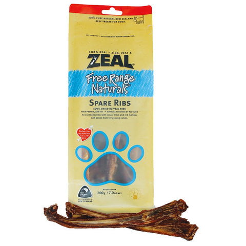 Zeal Calf Spare Ribs 125g