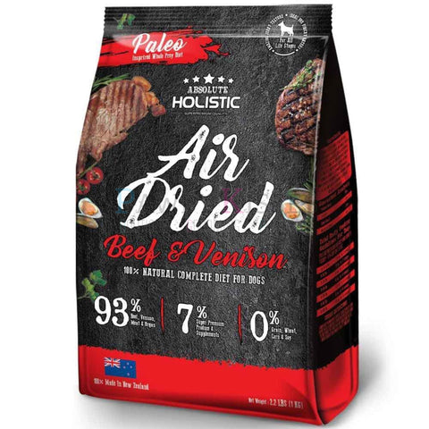 Absolute Holistic Air Dried Diet Beef & Venison 1 kg