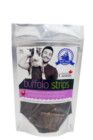 Blue Dane 50 gram Buffalo Strips