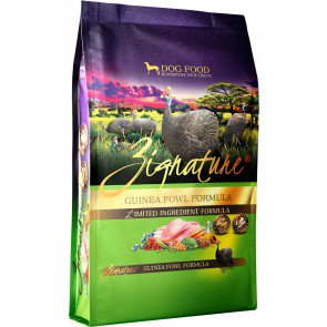 Zignature Dog Food Limited Ingredient Formula Grain Free Guinea Fowl 4lb